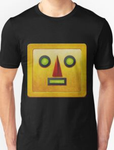 Yellow Robot Face T-Shirt