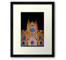 St Mary's Cathedral ~ Smart Light Framed Print