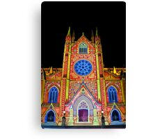 St Mary's Cathedral ~ Smart Light Canvas Print