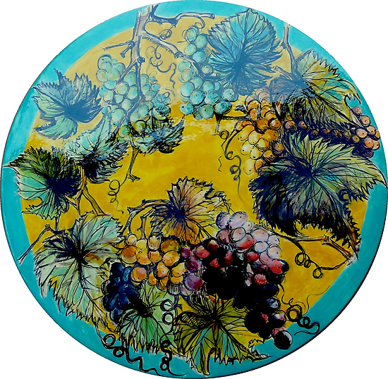 Summer alfresco by Elizabeth Moore Golding