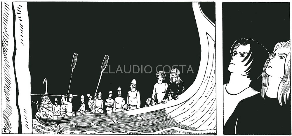 """VIKINGS """"waiting for the battle"""" by CLAUDIO COSTA"""