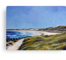 The Path to Pea-Soup Beach Canvas Print