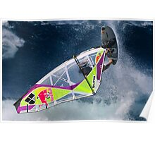Wavesailing, Hawaiian style .... Poster