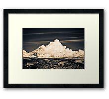 Wind Farm   Palmerston North Framed Print