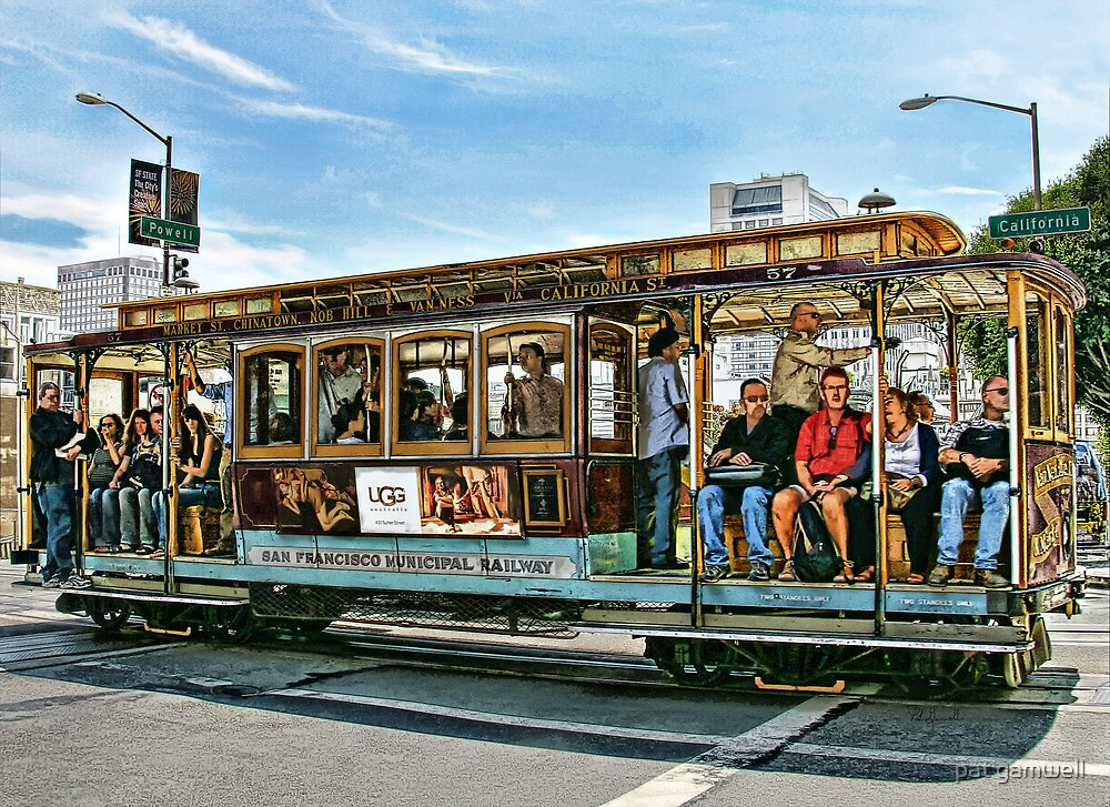 Ding..Ding...Ding Goes The Trolley by pat gamwell