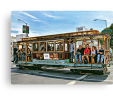 Ding..Ding...Ding Goes The Trolley Canvas Print