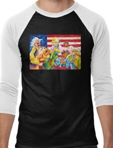 AMERICAN JAZZ Men's Baseball ¾ T-Shirt