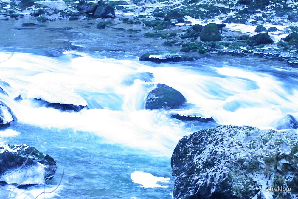 River of blue by skreklow