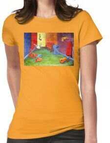 the MORNING AFTER Womens Fitted T-Shirt