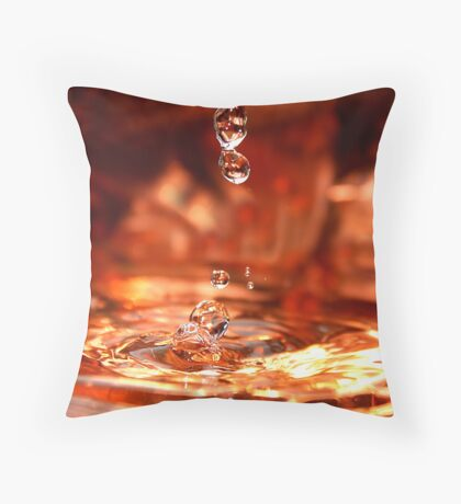 Water People  Throw Pillow