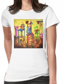 TIME OUT Womens Fitted T-Shirt