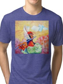 WHISTLING IN THE WIND Tri-blend T-Shirt