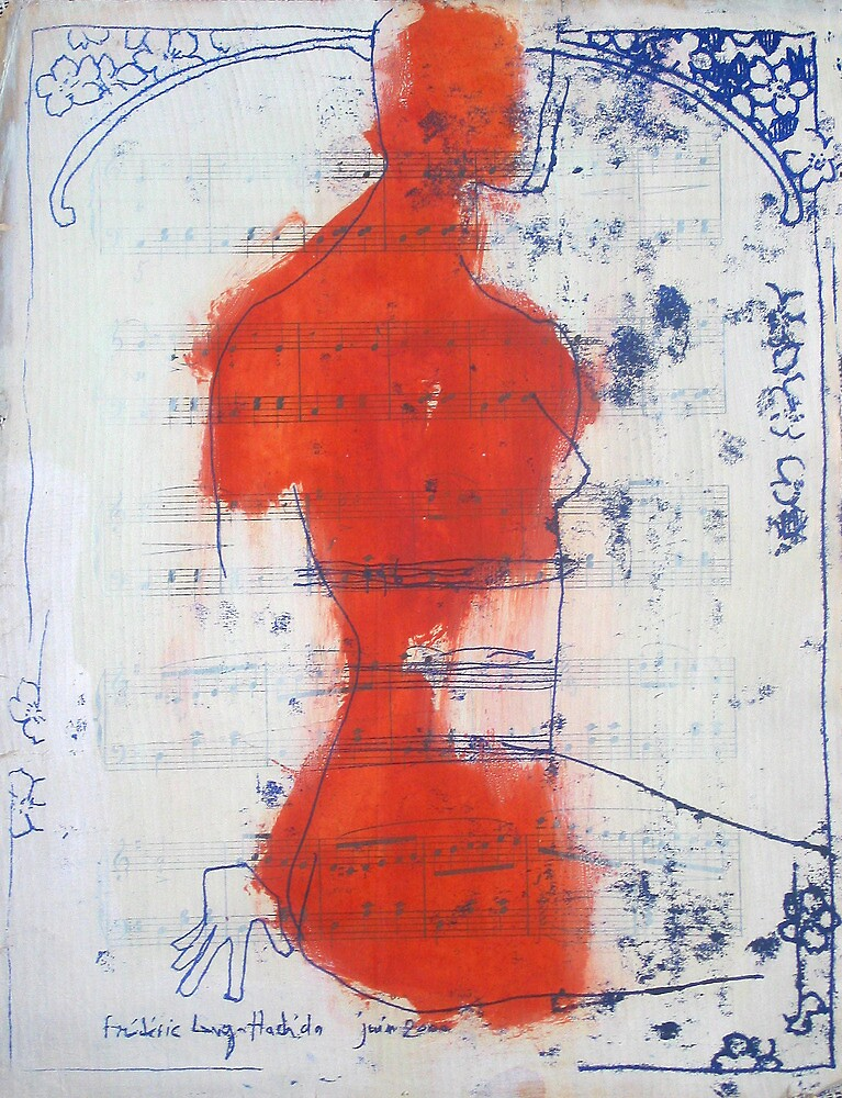 woman in music 1 by frederic levy-hadida