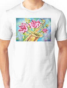 BLOOMING SAX Unisex T-Shirt