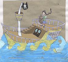 Pipa's Pirateship by Sanne Thijs