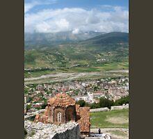 a vast Albania landscape Unisex T-Shirt