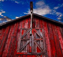 Red Barn by MKWhite