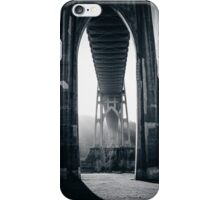 Under St. John's Bridge iPhone Case/Skin