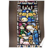 Nativity Window, St Mary's Church Poster