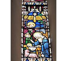 Nativity Window, St Mary's Church Photographic Print