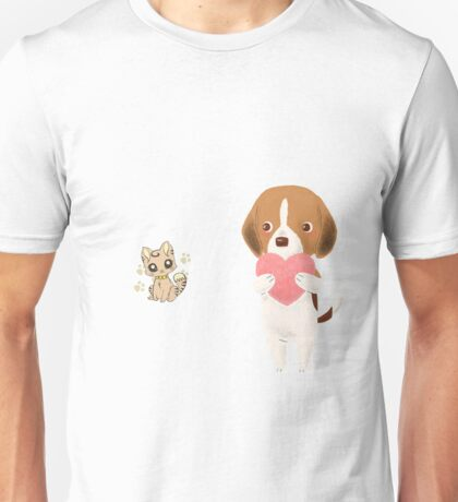 Kitty Will You Love Me ? Unisex T-Shirt