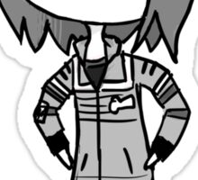 tiny disgruntled party poison Sticker