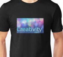 Creative Rain (Blue) Unisex T-Shirt