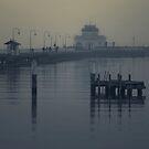 St Kilda Pier, Melbourne  by Christine  Wilson Photography