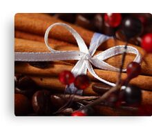 The Scents of Christmas Canvas Print