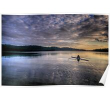 Insignificance - Narrabeen Lakes, Sydney - The HDR Experience Poster