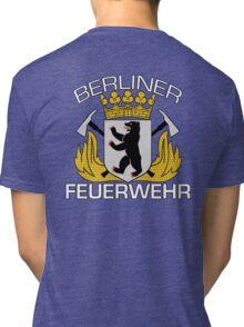 Berliner Feuerwehr Tri-blend T-Shirt