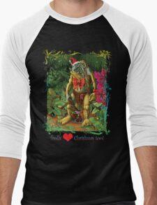 Trolls Love Christmas too Men's Baseball ¾ T-Shirt