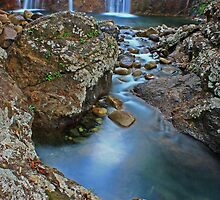 Waterfall by Ron  Wilson
