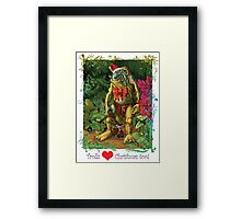 'Trolls Love Christmas too' Framed Print