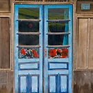Tea through the window by Naomi Brooks