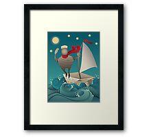 Going Sailing Framed Print