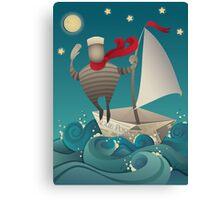 Going Sailing Canvas Print