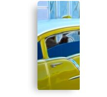 Taxi Cuba Canvas Print