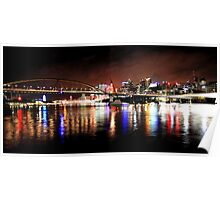 River City - Brisbane Poster