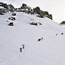 Treble Cone summit by Naomi Brooks