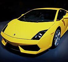 Yellow Lamborghini Gallardo by Nathan T