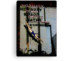 Hornsey Road Baths & Laundry  Canvas Print