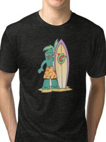 Graffiti New York City iphone case Tri-blend T-Shirt