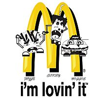 McDonald's Rappers Photographic Print