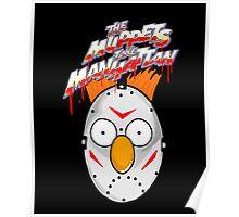 muppets beaker mashup friday the 13th Poster