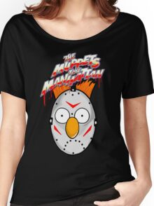 muppets beaker mashup friday the 13th Women's Relaxed Fit T-Shirt