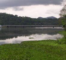 an incredible Panama landscape Sticker