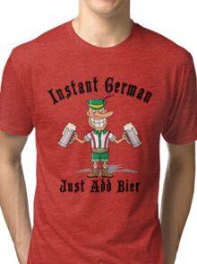 Funny German Tri-blend T-Shirt