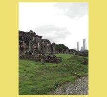a sprawling Panama landscape Kids Tee