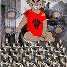 Dictator Baby Plays War Games by EMMET BYRNE
